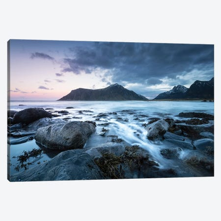 Arctic Dusk Canvas Print #STR168} by Andreas Stridsberg Canvas Art Print