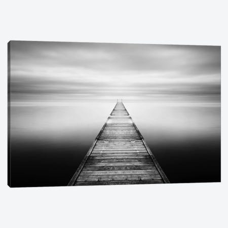 Evening Stillness-B&W Canvas Print #STR16} by Andreas Stridsberg Canvas Print