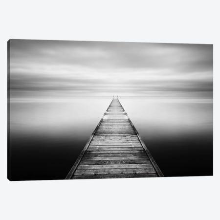 Evening Stillness-B&W Canvas Print #STR16} by Andreas Stridsberg Canvas Print