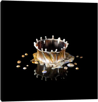 Coffee Crown Canvas Art Print