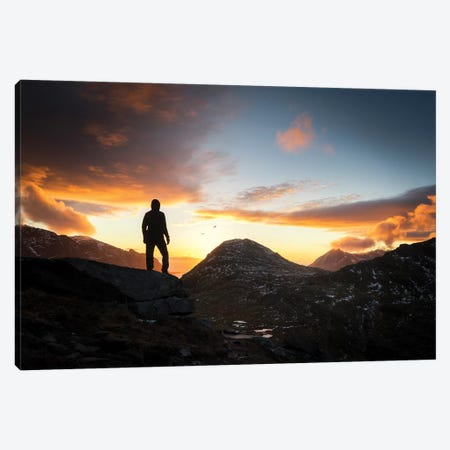 On Top Canvas Print #STR191} by Andreas Stridsberg Canvas Artwork