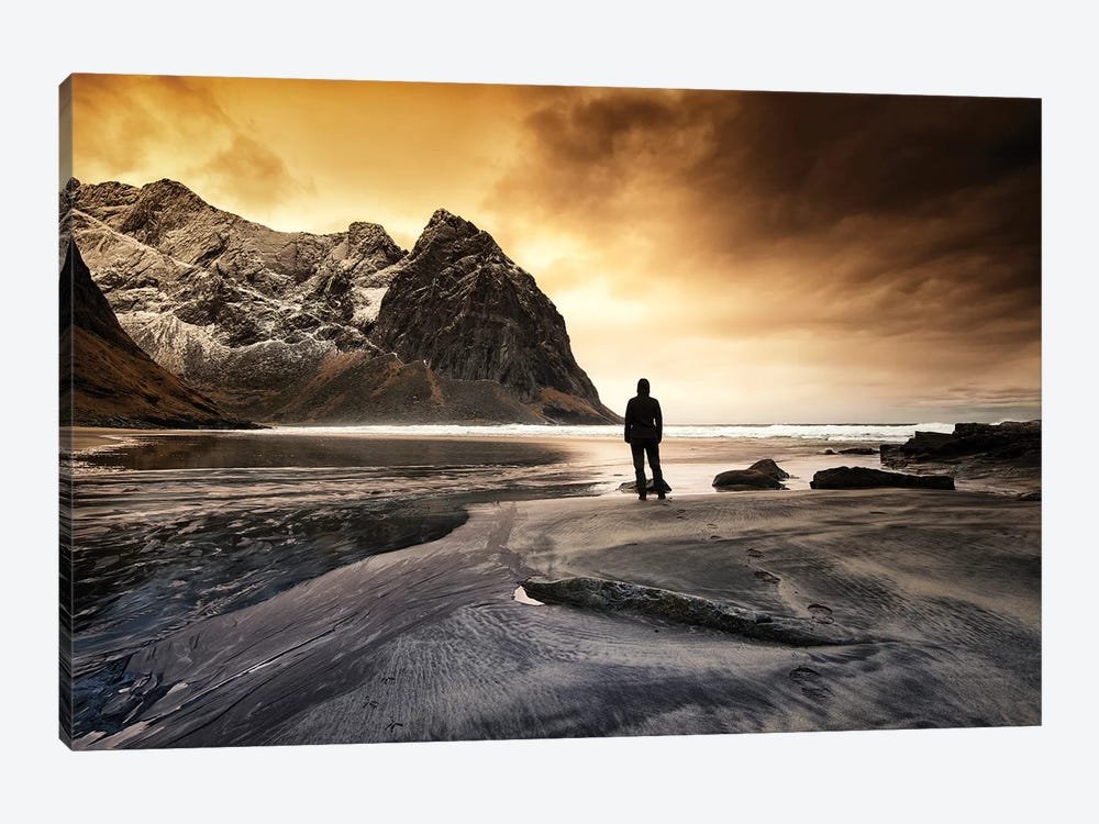 The End by Andreas Stridsberg 1-piece Canvas Wall Art