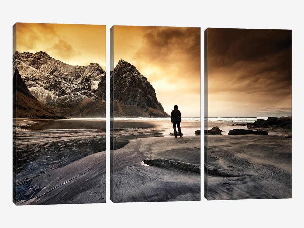 The End by Andreas Stridsberg 3-piece Canvas Artwork