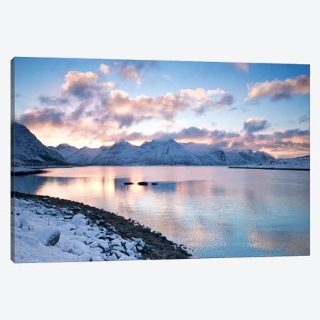 A New Day Dawns Canvas Print #STR1} by Andreas Stridsberg Canvas Art Print