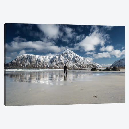 Walk Alone Canvas Print #STR201} by Andreas Stridsberg Canvas Wall Art