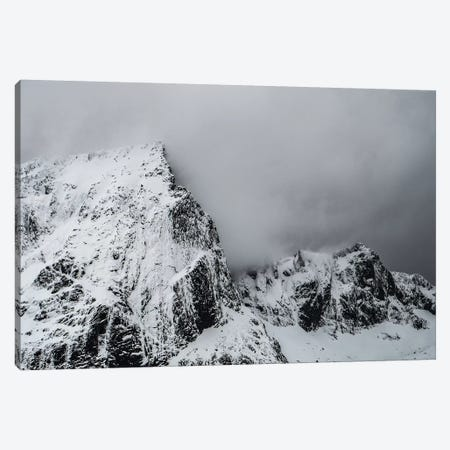 White Wall Canvas Print #STR205} by Andreas Stridsberg Canvas Print