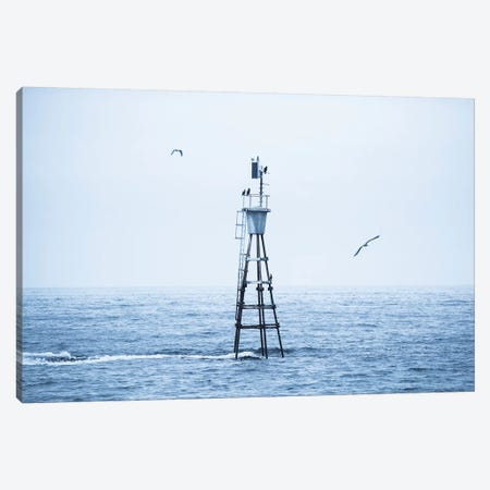 Outside Andenes Canvas Print #STR207} by Andreas Stridsberg Art Print