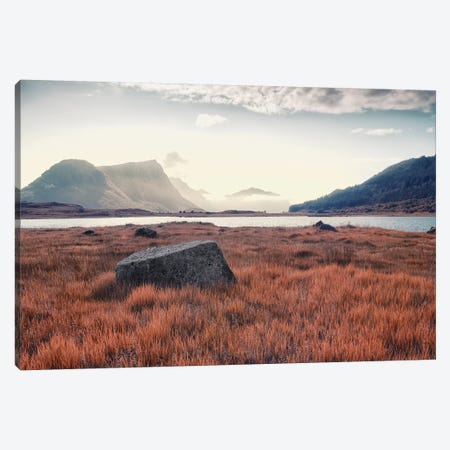 Arctic Autumn Canvas Print #STR210} by Andreas Stridsberg Canvas Art Print