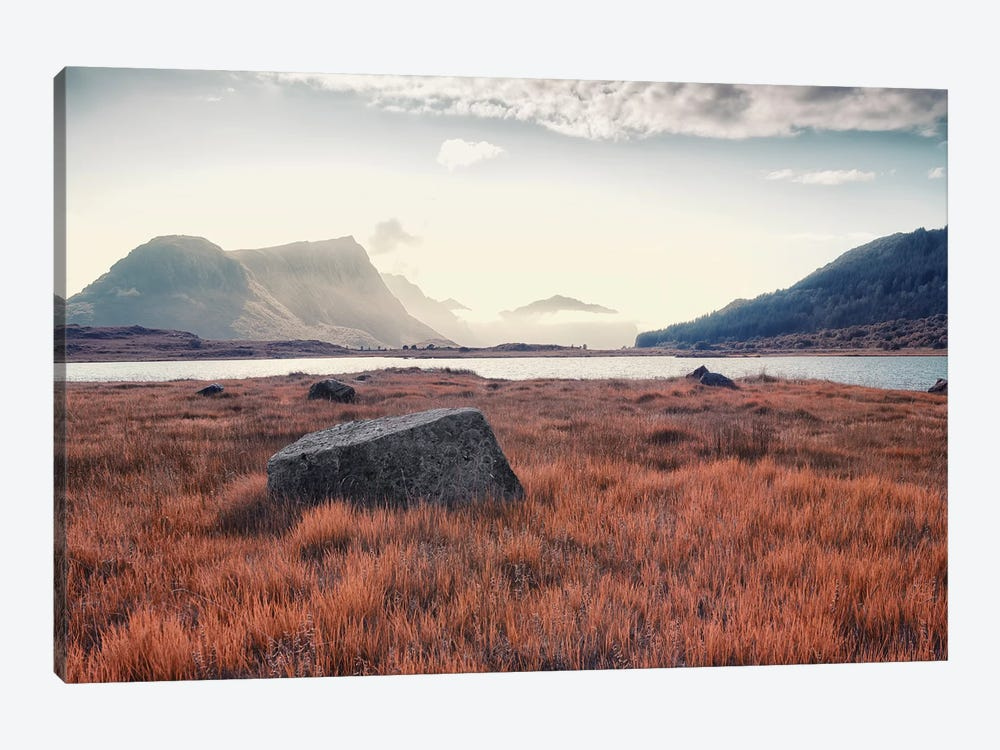 Arctic Autumn by Andreas Stridsberg 1-piece Canvas Art Print