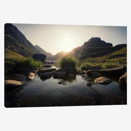 Another Day Dawns Canvas Print #STR218} by Andreas Stridsberg Art Print