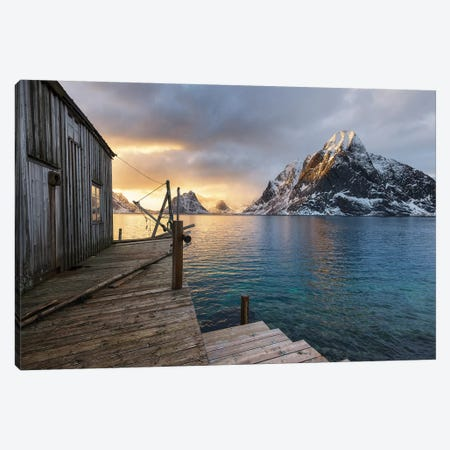 Spring Sunset Canvas Print #STR219} by Andreas Stridsberg Canvas Print