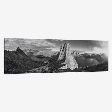 Segla Panorama Canvas Print #STR226} by Andreas Stridsberg Canvas Print