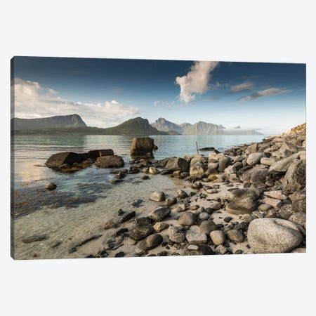 Haukland Shore Canvas Print #STR230} by Andreas Stridsberg Art Print