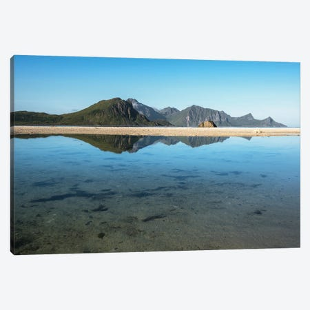 Arctic Reflections Canvas Print #STR231} by Andreas Stridsberg Canvas Art Print