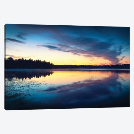 Midnight Mirror Canvas Print #STR233} by Andreas Stridsberg Canvas Print