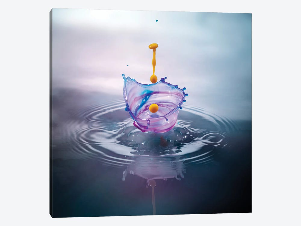 Basket Splash by Andreas Stridsberg 1-piece Canvas Print