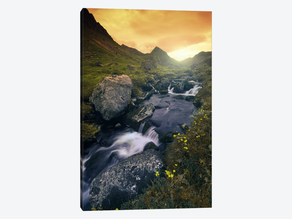 Golden Hour by Andreas Stridsberg 1-piece Canvas Artwork