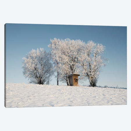 Frosty Lookout Canvas Print #STR259} by Andreas Stridsberg Art Print