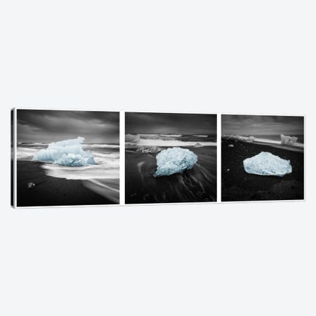 Icelandic Ice Canvas Print #STR27} by Andreas Stridsberg Canvas Artwork