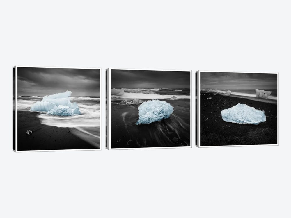 Icelandic Ice by Andreas Stridsberg 3-piece Art Print