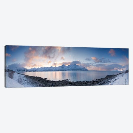 A Winter Panorama Canvas Print #STR2} by Andreas Stridsberg Art Print