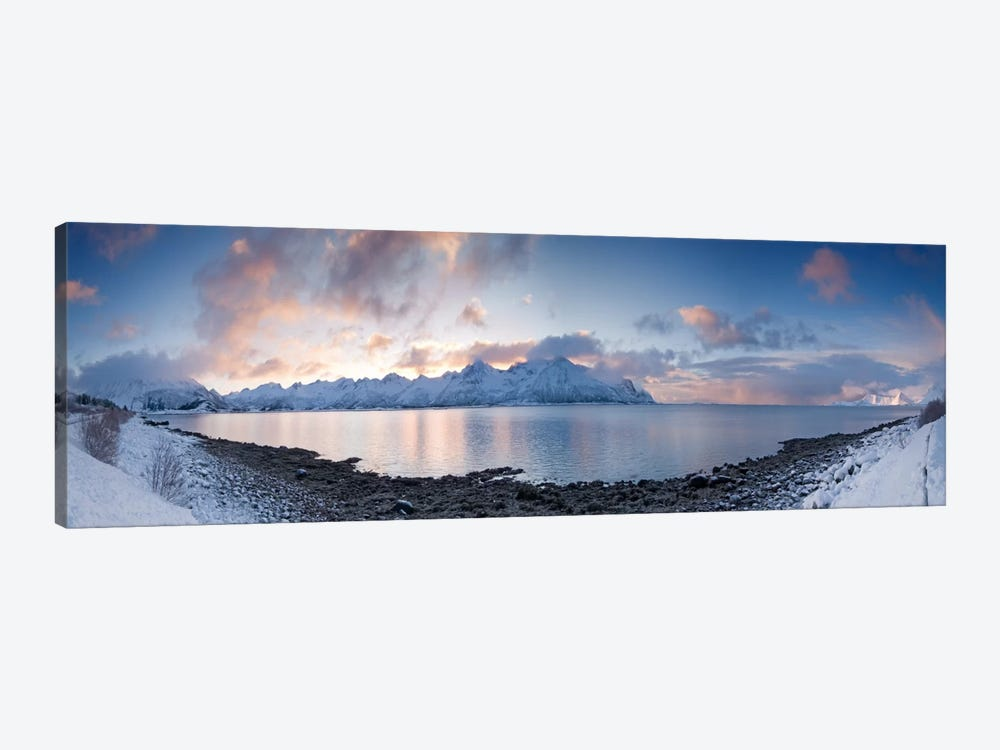 A Winter Panorama by Andreas Stridsberg 1-piece Canvas Art Print
