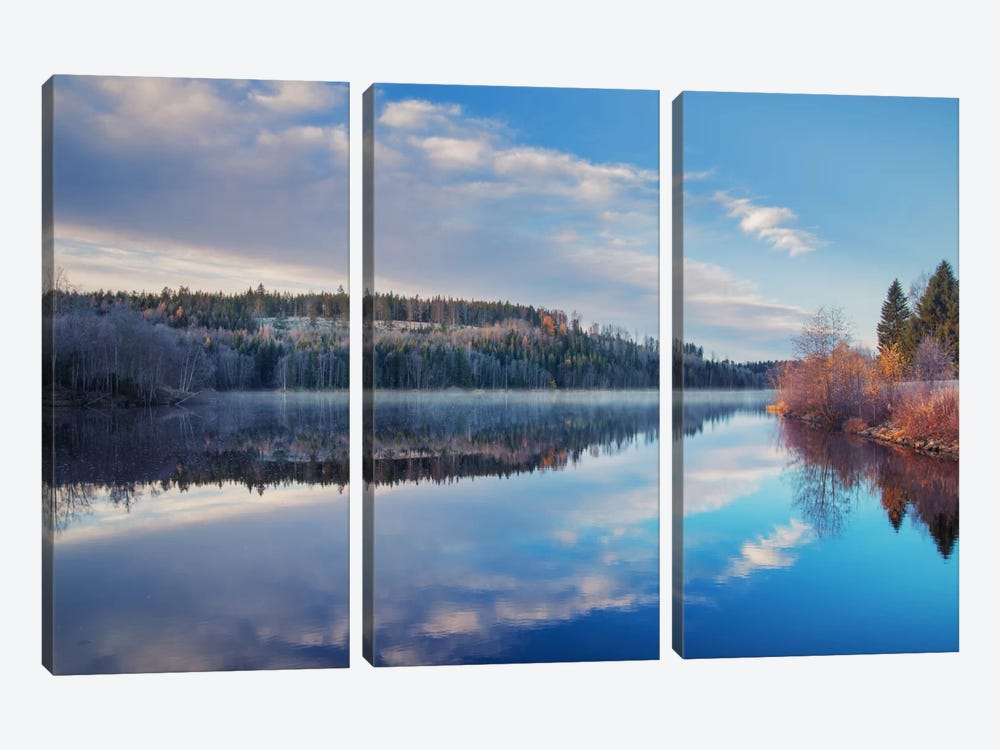 Late Fall by Andreas Stridsberg 3-piece Canvas Art Print