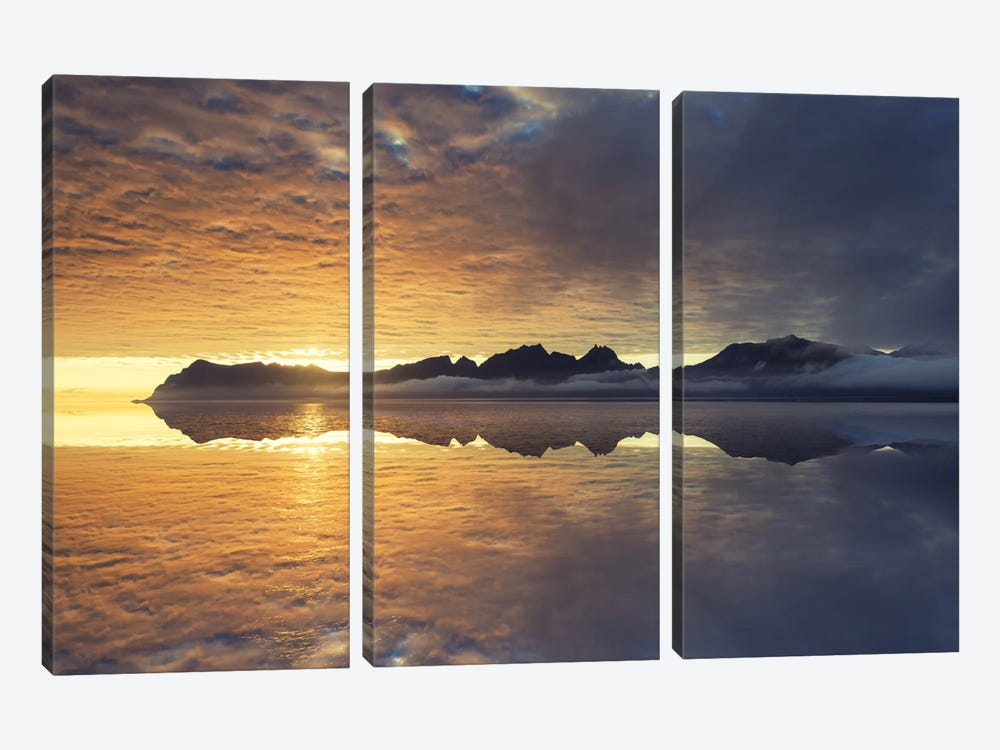 Lofoten Islands by Andreas Stridsberg 3-piece Canvas Art