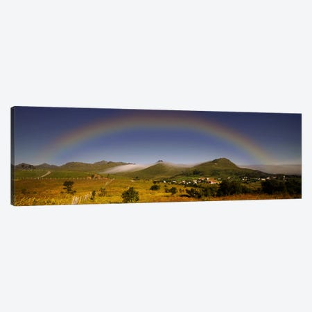 Lofoten Rainbow Canvas Print #STR32} by Andreas Stridsberg Canvas Art