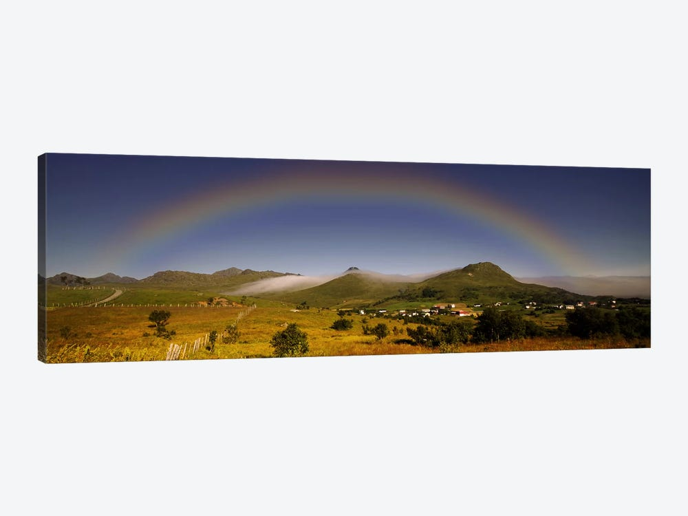 Lofoten Rainbow by Andreas Stridsberg 1-piece Canvas Print