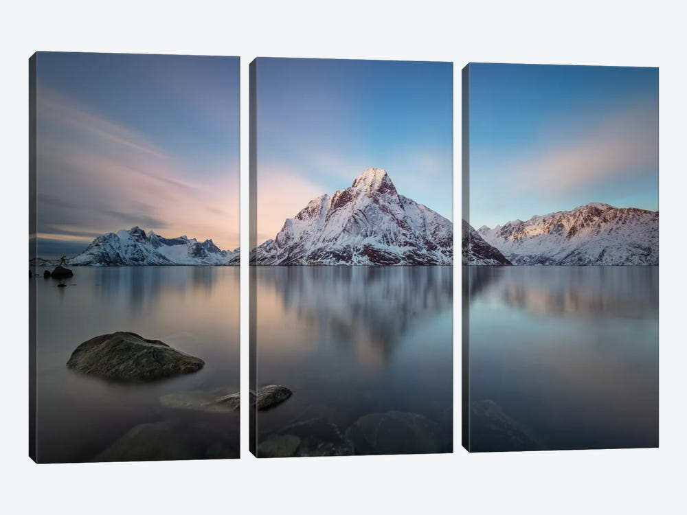 Majestic by Andreas Stridsberg 3-piece Canvas Wall Art