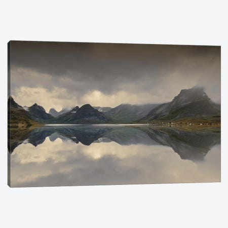 Mirrored Beauty Canvas Print #STR36} by Andreas Stridsberg Art Print