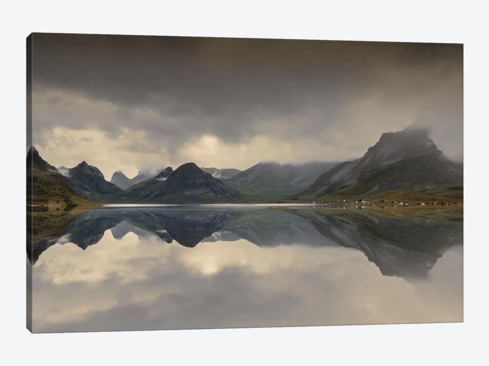 Mirrored Beauty by Andreas Stridsberg 1-piece Art Print