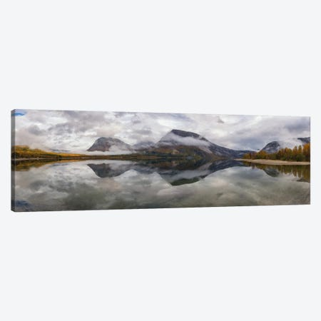 Misty Mountains Canvas Print #STR37} by Andreas Stridsberg Canvas Print