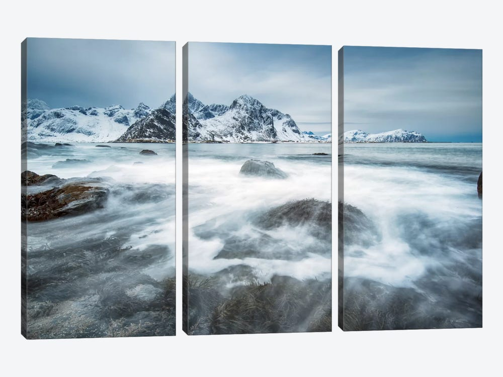 Arctic Motion by Andreas Stridsberg 3-piece Canvas Art