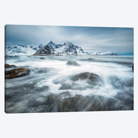 Arctic Motion Canvas Print #STR3} by Andreas Stridsberg Canvas Print
