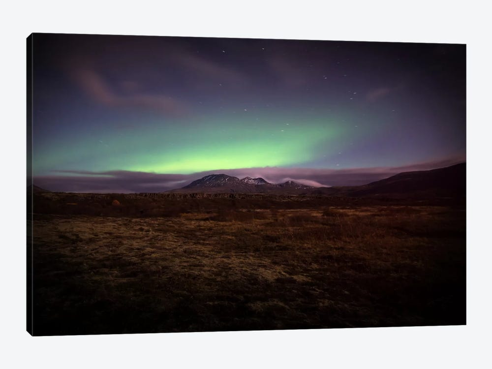 Northern Lights by Andreas Stridsberg 1-piece Canvas Print