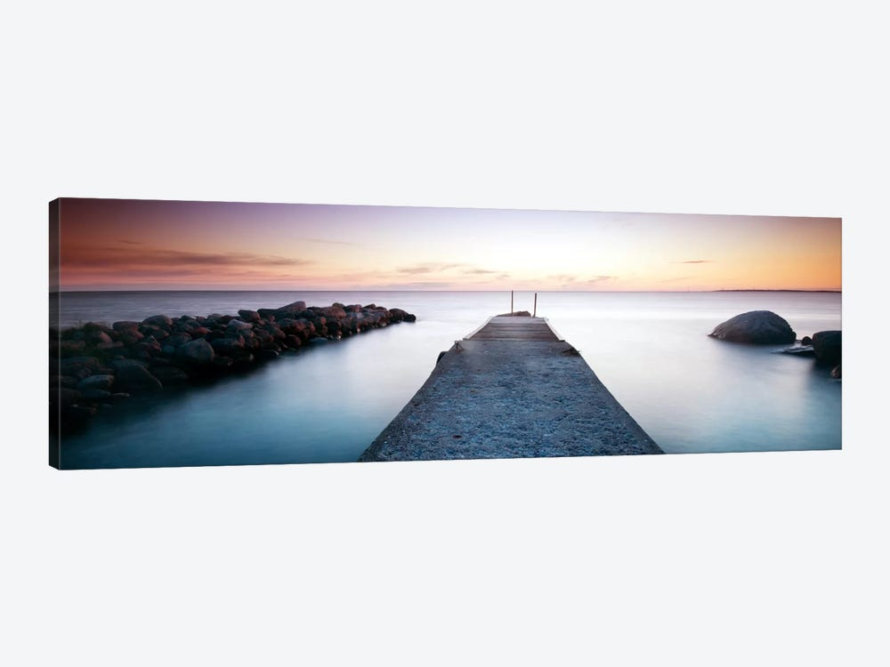 Placid Pier by Andreas Stridsberg 1-piece Canvas Wall Art