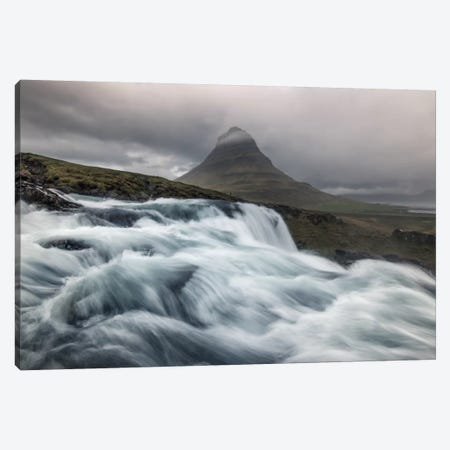 Raging River Canvas Print #STR46} by Andreas Stridsberg Canvas Wall Art