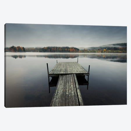Reflections Of Autumn Canvas Print #STR47} by Andreas Stridsberg Canvas Art