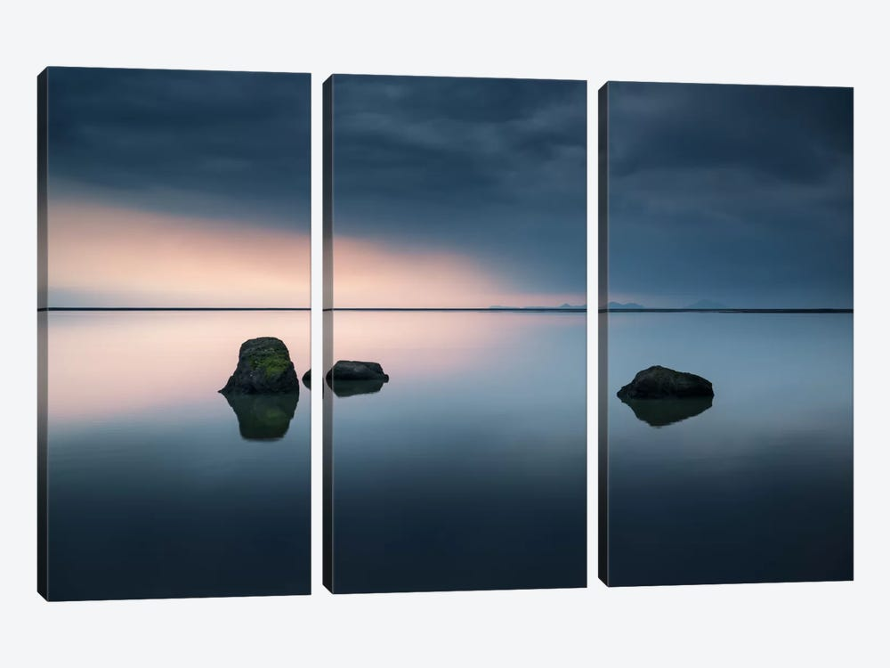 Serenity by Andreas Stridsberg 3-piece Art Print