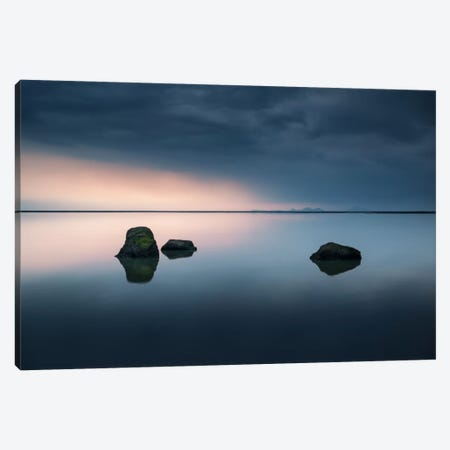 Serenity 3-Piece Canvas #STR49} by Andreas Stridsberg Art Print