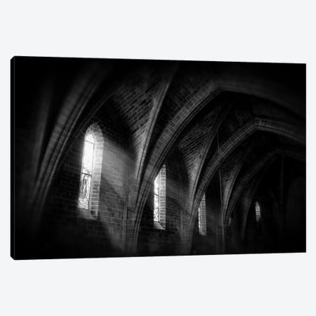Beams Of Light 3-Piece Canvas #STR4} by Andreas Stridsberg Canvas Wall Art
