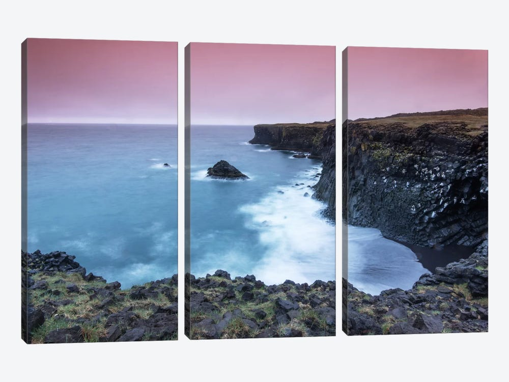 Shoreline by Andreas Stridsberg 3-piece Canvas Print