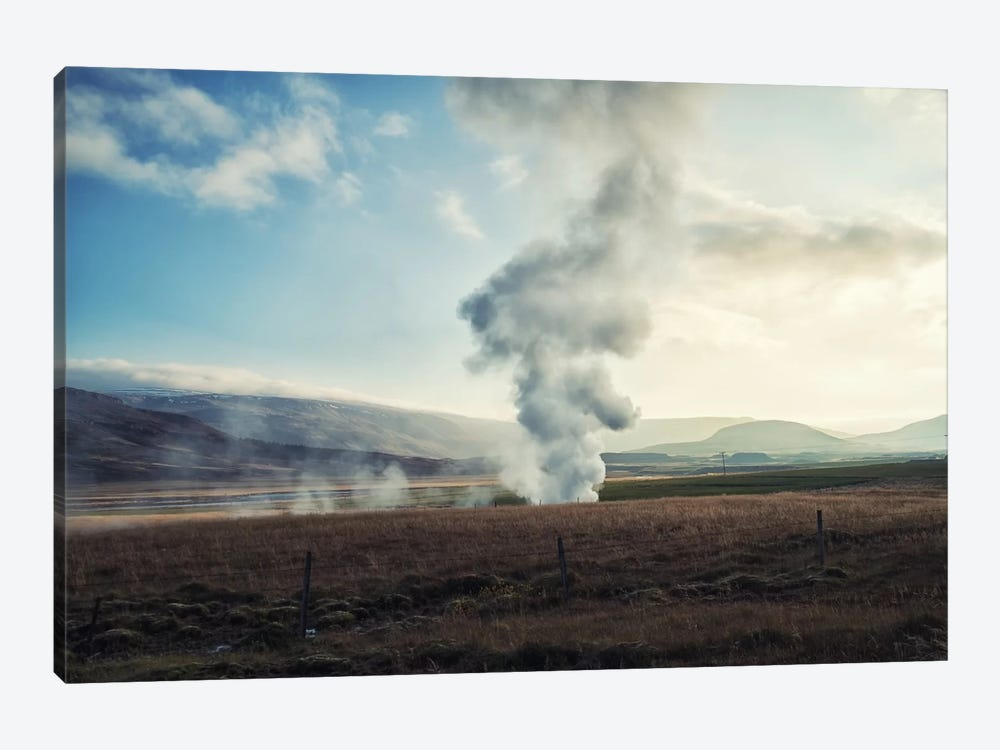 Somewhere In Iceland by Andreas Stridsberg 1-piece Canvas Print