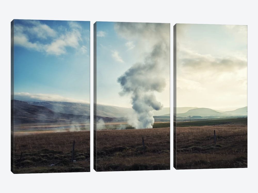 Somewhere In Iceland by Andreas Stridsberg 3-piece Canvas Art Print