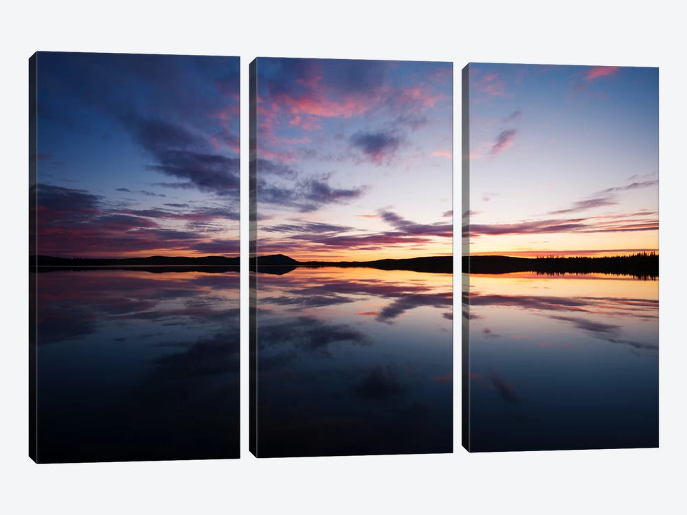 Tranquility by Andreas Stridsberg 3-piece Canvas Art Print
