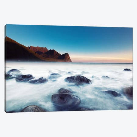 Unstad Beach Canvas Print #STR65} by Andreas Stridsberg Canvas Art