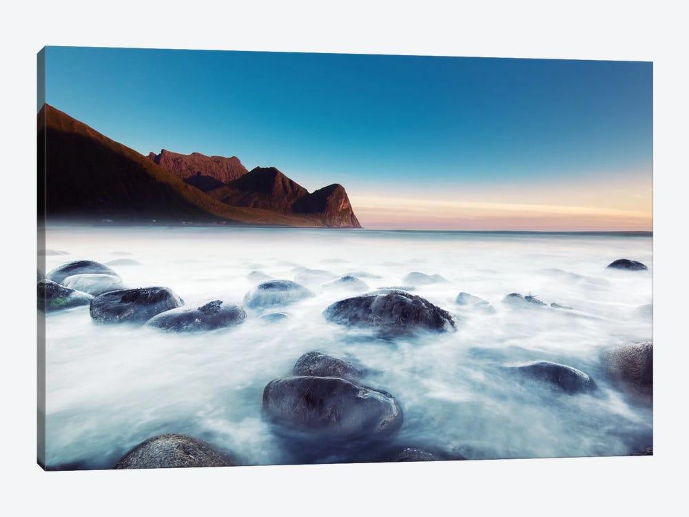 Unstad Beach by Andreas Stridsberg 1-piece Canvas Art Print