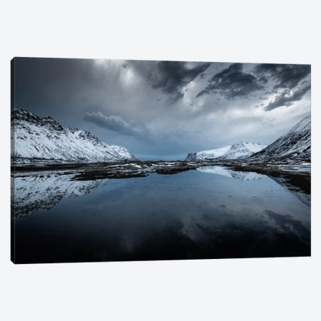 Winter Is Coming Canvas Print #STR70} by Andreas Stridsberg Canvas Wall Art